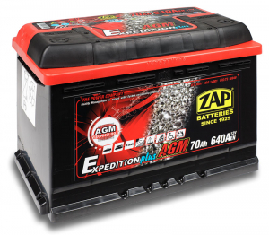 Zap Expedition+ AGM 95 (Start-Stop)