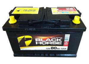 Black Horse 6СТ-80N R+ (L3)