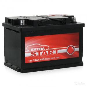 Extra Start 6СТ-74N R+ (L3)