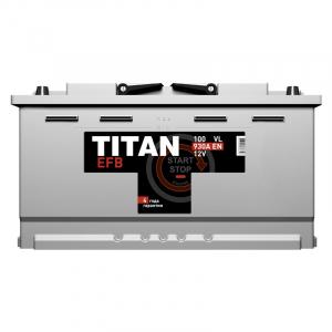 TITAN EFB 6СТ-225.3 VL (Start-Stop)
