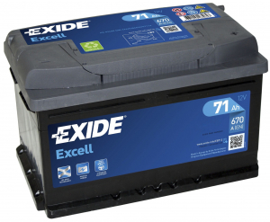 Exide Excell 71L