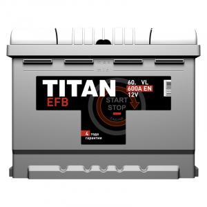 TITAN EFB 6СТ-60.0 VL (Start-Stop)