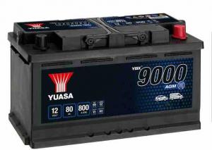 Yuasa Start-Stop 80